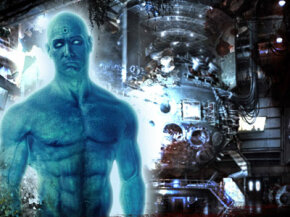 "Dr. Manhattan, one of the main players of ""Watchmen"""