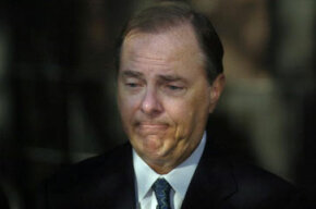 Former Enron CEO Jeffrey Skilling received a 24-year prison sentence for insider trading and other crimes. See more money scam pictures.