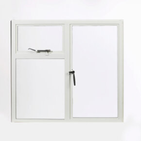 You probably recognize casement windows, which are hinged at the sides of the window frame.