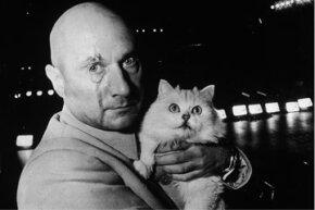 Ernst Stavro Blofeld, the very personification of evil genius?