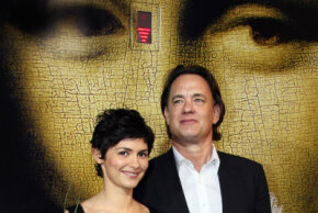 """Audrey Tautou and Tom Hanks discover adventure and intrigue in a Swiss bank in the 2006 film """"The Da Vinci Code."""""""