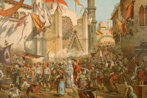 Want a parade held for you? Be the first person to circumnavigate the globe. A posthumous celebration was held in Spain in 1522 to honor Ferdinand Magellan's feat.