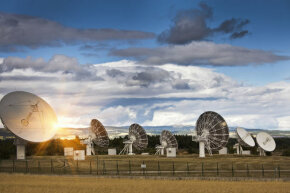 Scientists have suggested building several solar system receiving sStations, which would be enormous arrays of antennas stretching for many miles in different locations on Earth.