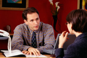 Asking about your future boss could make recruiters see you as a future employee.