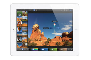 The new iPad has a retina display with incredible clarity and color reproduction.