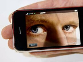 Watch out! Who knows who or what is watching you with that seemingly unattended iPhone?
