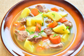 Irish foods are simple, comforting and almost always include potatoes.