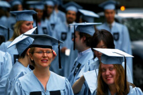 Private counselors charge lots of money to help students get into Ivy League schools like Columbia University in New York City.