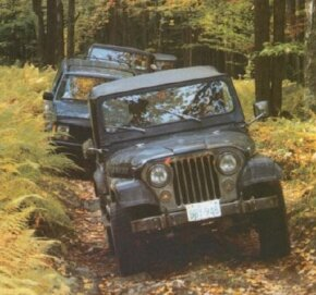 Only about five percent of Jeep owners ever experience real off-road use. See more Jeep pictures.