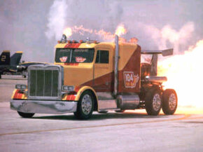 Image Gallery: Trucks Shockwave jet-powered truck. See more pictures of trucks.