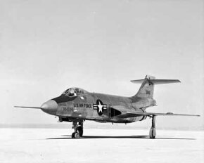 """The McDonnell F-101A Voodoo was the second of the """"Century Series"""" fighters. The Voodoo served in a number of roles, including reconnaissance, tactical nuclear strike, and interception."""