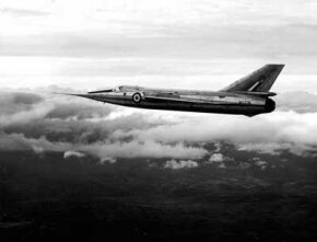 The Fairey Delta 2 raised the world absolute speed record to 1,132 miles per hour -- the first time it had exceeded 1,000 miles per hour.