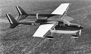"""Twin-engine aircraft like the Cessna Skymaster are generally considered safer than single-engine aircraft--as long as both engines are running. Cessna solved the problem with its """"push-pull"""" centerline thrust."""