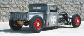 """Jimmy """"Shine"""" Falschlehner built his '34 Pickup at the So-Cal Speed Shop. See more hot rodspictures."""
