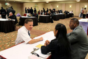 Do your homework before you walk into the job fair. Recruiters will notice.
