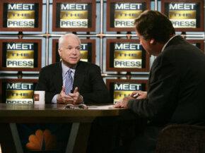 John McCain on Meet the Press.