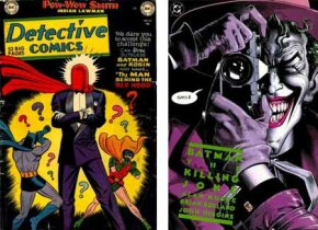 """The Joker's origin was first revealed in Detective Comics # 168 and expanded in """"The Killing Joke."""""""