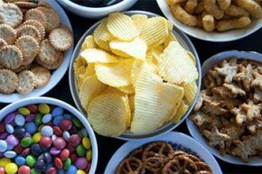 Mmm, what a lovely-looking array of sweet and salty snacks!  Where do we start?