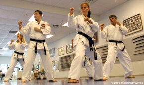 Karate is an incredible art form, built on the concept of merging body and mind into a defensive weapon. See how karatekas use this merger to break wood and cinder blocks with their hands and feet.