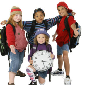 They can be playful kids and understand time management.