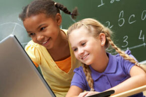 Schools are also part of the computer learning network for kids, so working with your child's curriculum and making supplemental information available is likely part of helping with homework.