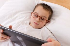 Could your child's sleep troubles be related to too much computer time?