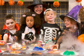 Kids' Halloween parties range from silly to scary. Just be sure your entertainment isn't too intense for little ones. See more pictures of Halloween.