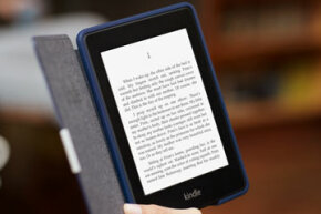 The Amazon Kindle Paperwhite, released in October 2012