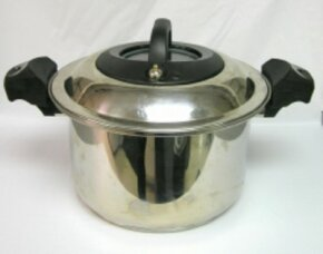 Modern pressure cookers are equipped with safety features to prevent accidents.