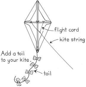 Make your own kite.
