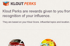 Klout Perks appeal to marketers and to folks who like freebies.