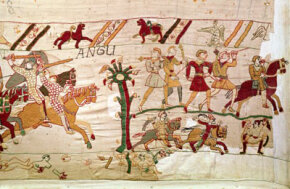 Detail from the Bayeux Tapestry, circa 1082