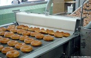 The original glazed Krispy Kreme