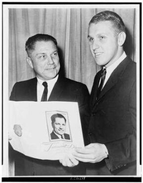 "Like his father James R. ""Jimmy"" Hoffa, who joined the Teamsters as a young man, James P. Hoffa has been a member of the Teamsters for decades, now serving as the union's president."