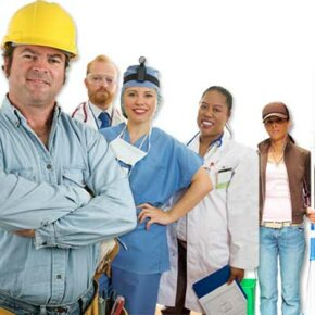 Labor unions exist for a wide variety of professions, representing everyone from construction workers to doctors.