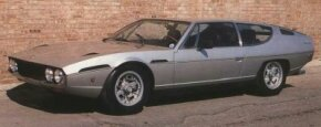 """Evolved from Bertone's Marzal show car, the Lamborghini Espada was long, low, and somewhat """"geometric"""" inside and out."""