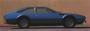 Essentially a short-wheelbase Lamborghini Espada, the Lamborghini Jarama was squat and angular in the early-Seventies idiom.