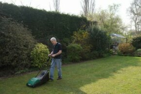 The quest for the perfect lawn can be achieved with the help of a lawn mower.