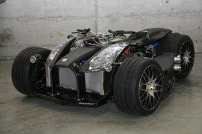 The Wazuma V8F Matt Edition is characterized by a flat black exterior.