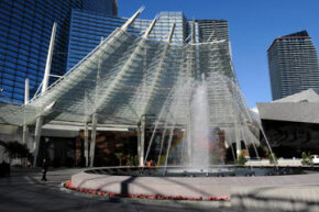 The Aria Resort & Casino in Las Vegas is said to be one of the world's largest green projects built with the LEED Gold certified Green Building Rating System.