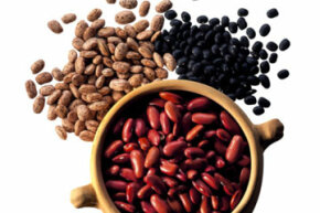Legumes are packed with fiber, which is good for your cholesterol levels.