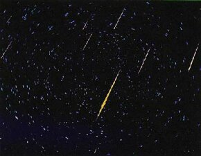 Arizona, November 1966 - The Leonid meteor shower rained 2,300 meteors per minute for 20 minutes.