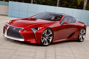 The Lexus LF-LC Concept. See more pictures of concept cars.