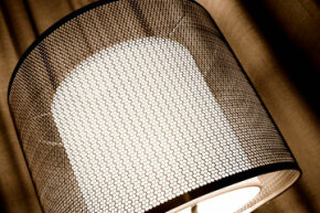 These mesh lampshades will give your home a modern twist.