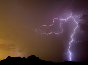Looking at this bolt that resembles a dragon, it's easy to see why lightning was once viewed as supernatural.