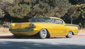 The Limelighter, customized by Bill Cushenbery, was clearly named for its citrus-green paint job. See more custom car pictures.