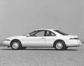 The 1993 Lincoln Mark VIII raised the standard for Lincoln driving with improved steering and more reliable braking.