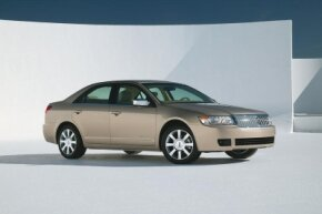 The 2006 Lincoln Zephyr, aimed at first-time luxury buyers, was Lincoln's smallest car ever.