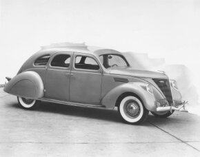 The 1936 Lincoln Zephyr was a radical departure from previous Lincoln styling.