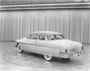 """The 1951 Lincoln Lido Coupe was a successor to the """"bar of soap"""" design style."""